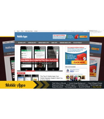 Mobile Apps Niche Blog