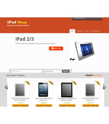 Amazon iPad  Store
