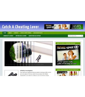 Catch A Cheat Lover Niche Blog