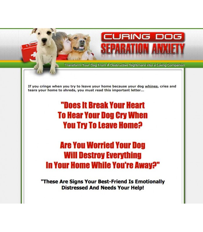 Dog Seperation Ebook Website