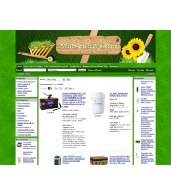 Amazon Gardening Affiliate Store