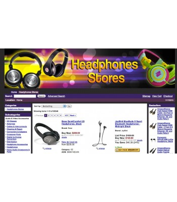 Amazon Headphone Affiliate Store