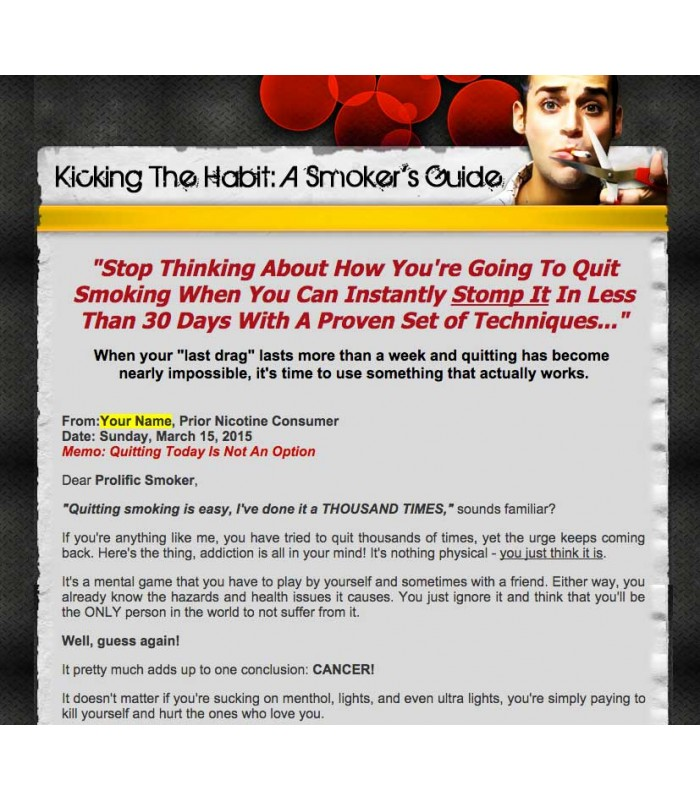 Quite Smoking Ebook Website
