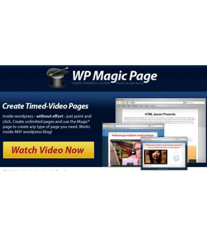 WordPress Magic Page Plugin